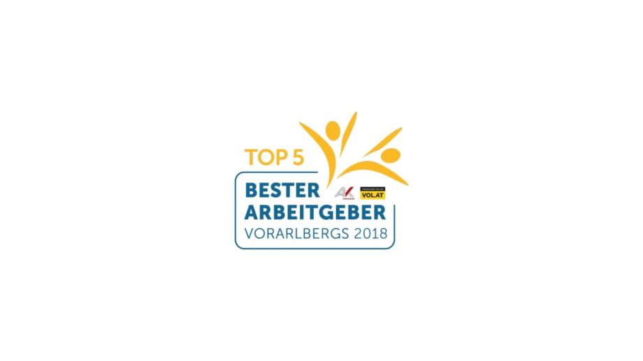 Conceptlicht wurde von den Mitarbeitern 2018 unter die Top 5 der besten Arbeitgeber Vorarlberg gewählt