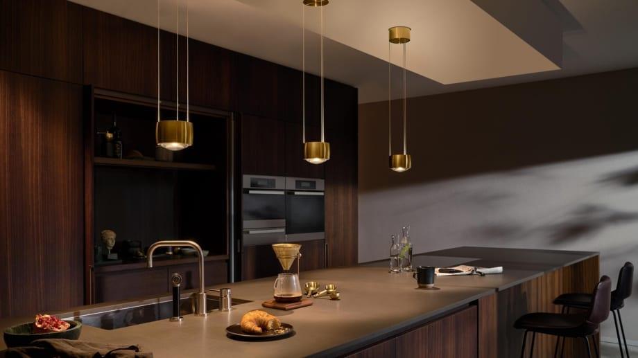 Occhio Leuchten. Küchenbeleuchtung bei Conceptlicht.
