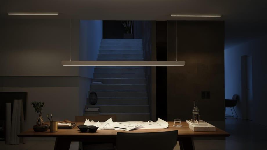 Occhio Beleuchtung Referenz im Arbeitsbereich.