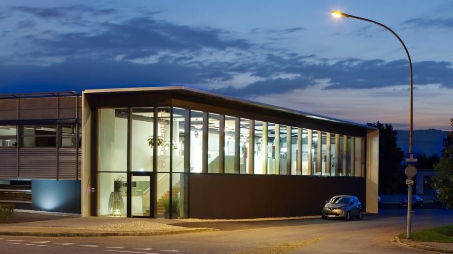 Conceptlicht Gebäude